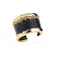 Jimmy Crystal Bangle BJ090A BLACK