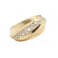 Jimmy Crystal Bangle BJ104F GOLD