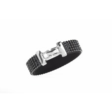Jimmy Crystal Bracelet BJ109 BLACK
