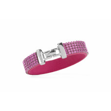 Jimmy Crystal Bracelet BJ109 PINK ROSE