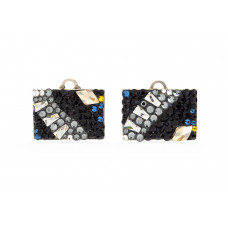 Jimmy Crystal EARRINGS EJ1708 NIGHT RIVER