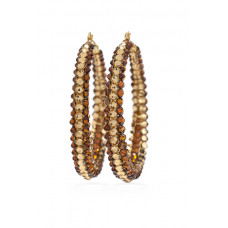 Jimmy Crystal EARRINGS EJ1830 GOLD
