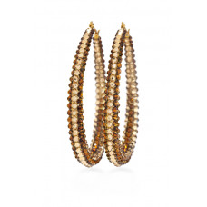 Jimmy Crystal EARRINGS EJ1831 GOLD