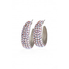 Jimmy Crystal EARRINGS EJ1832 SILVER
