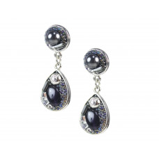 Jimmy Crystal Swarovski Earrings EJ1833 Galaxy