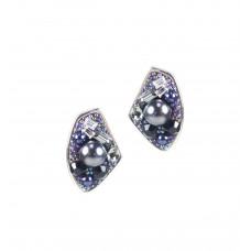 Jimmy Crystal Swarovski Earrings EJ1845 Galaxy