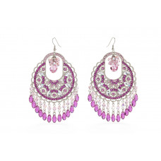 Jimmy Crystal Swarovski EARRINGS EJ1861 SILVER