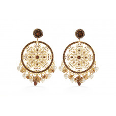 Jimmy Crystal Swarovski EARRINGS EJ1862F