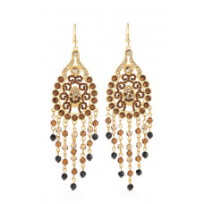 Jimmy Crystal Swarovski EARRINGS EJ1863 GOLD