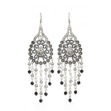 Jimmy Crystal Swarovski EARRINGS EJ1863 SILVER
