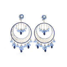 Jimmy Crystal Swarovski EARRINGS EJ1865F SILVER