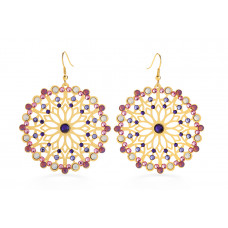 Jimmy Crystal Swarovski EARRINGS EJ1870 GOLD