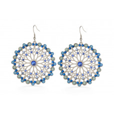 Jimmy Crystal Swarovski EARRINGS EJ1870 SILVER
