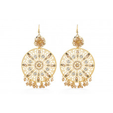 Jimmy Crystal EARRINGS EJ1873 GOLD