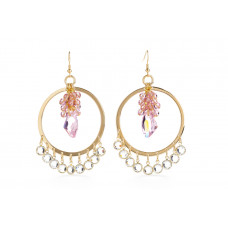Jimmy Crystal EARRINGS EJ1886 GOLD