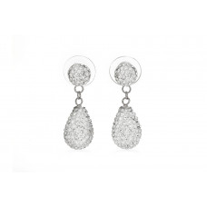 Jimmy Crystal Swarovski 925 Real Silver Earrings EJ1896