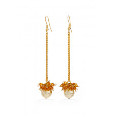 Jimmy Crystal EARRINGS EJ1913 GOLD