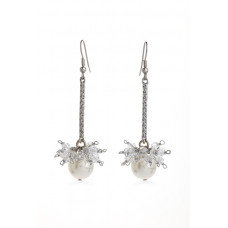 Jimmy Crystal EARRINGS EJ1913 SILVER