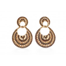 Jimmy Crystal EARRINGS EJ1925 GOLD