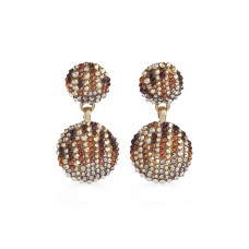 Jimmy Crystal EARRINGS EJ1926 GOLD