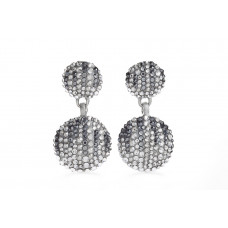 Jimmy Crystal EARRINGS EJ1926 SILVER