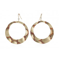Jimmy Crystal EARRINGS EJ1934 GOLD