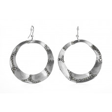 Jimmy Crystal EARRINGS EJ1934 SILVER