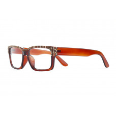 Jimmy Crystal Swarovski Reading Glasses JCR276 BROWN