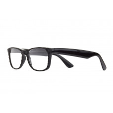 Jimmy Crystal Swarovski Reading Glasses JCR285 BLACK