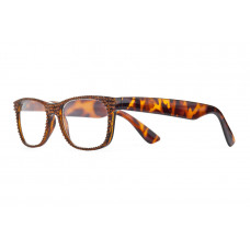 Jimmy Crystal Swarovski Reading Glasses JCR285 BROWN