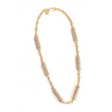 Jimmy Crystal Swarovski Necklace NJ072 GOLD