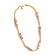 Jimmy Crystal Swarovski Necklace NJ103 GOLD