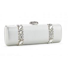 Jimmy Crystal Handbag PJ281 SILVER