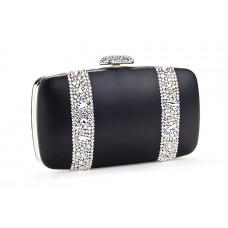Jimmy Crystal Handbag PJ282 BLACK