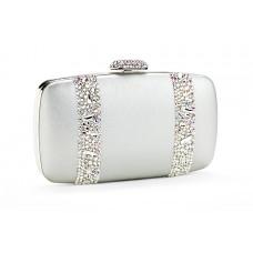 Jimmy Crystal Swarovski Handbag PJ282 SILVER