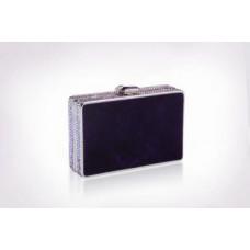 Jimmy Crystal Swarovski Clutch PJ297B Purple