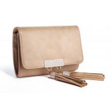 Jimmy Crystal Handbag PJ310 Beige