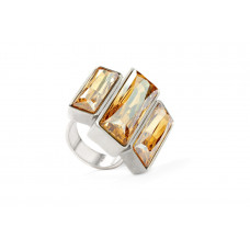 Jimmy Crystal RING215 GOLDEN SHADOW