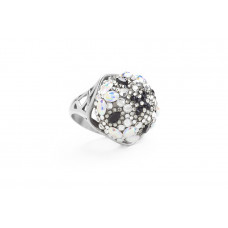 Jimmy Crystal RING241 SILVER