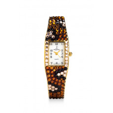 Jimmy Crystal Swarovski Watch WJ200 LEOPARD