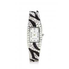 Jimmy Crystal Swarovski Watch WJ200 ZEBRA