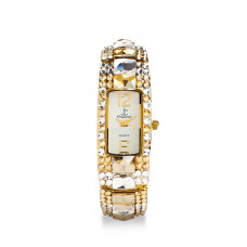 Jimmy Crystal Swarovski Watch WJ420A GOLD