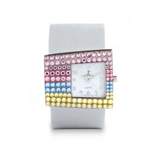 Jimmy Crystal Swarovski Watch WJ535A WHITE
