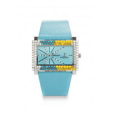 Jimmy Crystal Swarovski Watch WJ587A BLUE