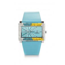 Jimmy Crystal Swarovski Watch WJ587A BLUE