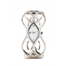 Jimmy Crystal Swarovski Watch WJ602 SILVER