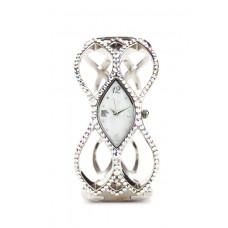 Jimmy Crystal Swarovski Watch WJ602 SILVER