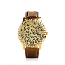 Jimmy Crystal Swarovski Watch WJ611 LEOPARD