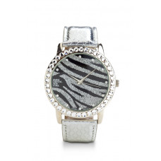 Jimmy Crystal Swarovski Watch WJ611 ZEBRA