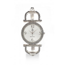 Jimmy Crystal Swarovski Watch WJ614A SILVER
